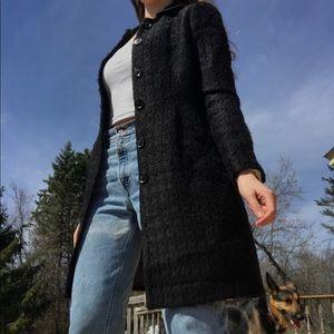 Italian tweed coat